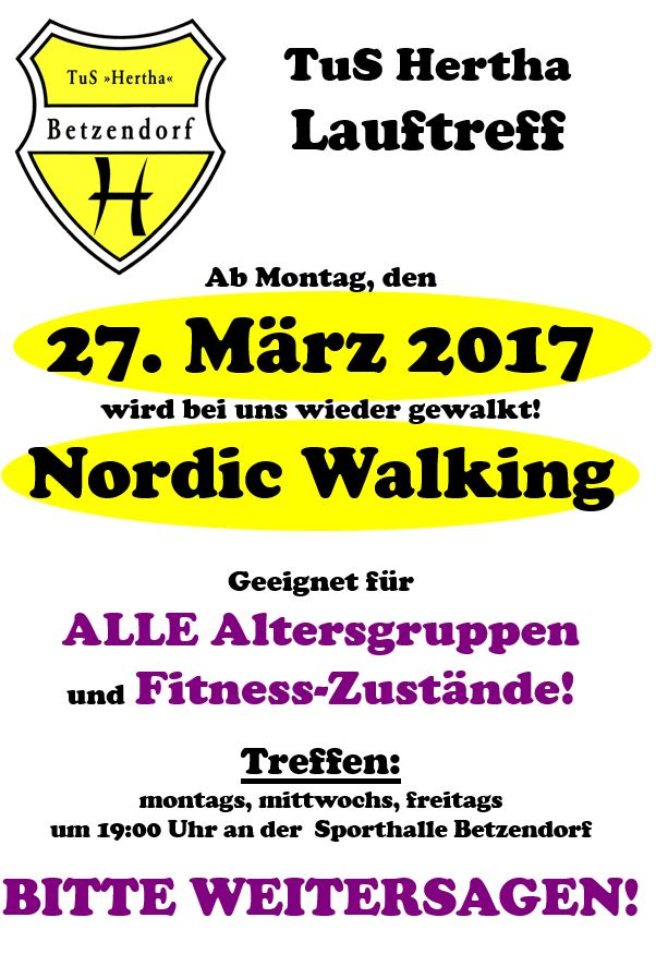 Nordic Walking 2017 online