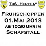 Frühschoppen 1.Mai 2013