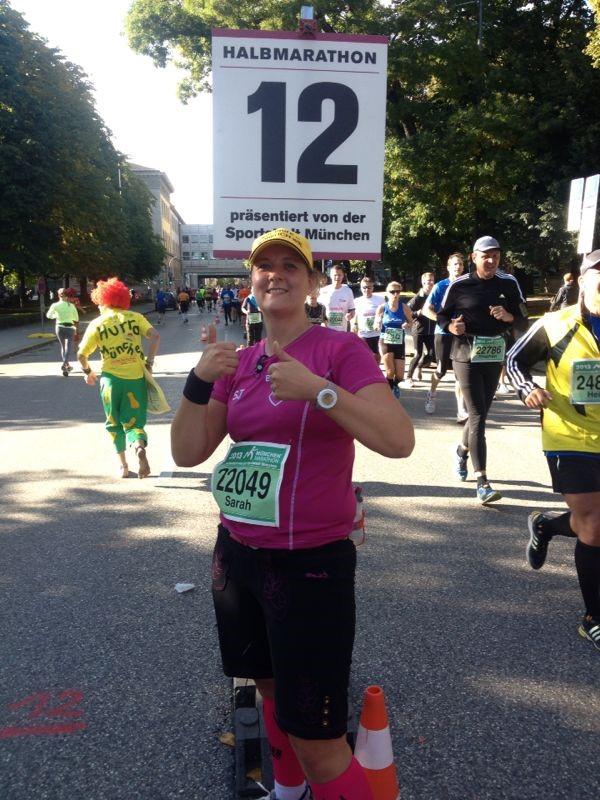 Sarah - Münchenmarathon 2013